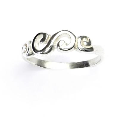 ČIŠTÍN s.r.o Stříbrný prstýnek, prsten ze stříbra, stříbro, T 781 2358
