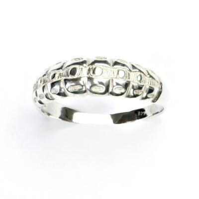 ČIŠTÍN s.r.o Stříbrný prsten, šperky, housenka, prstýnek ze stříbra, T 836 2367