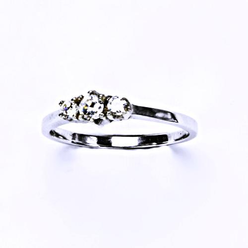 ČIŠTÍN s.r.o Stříbrný prsten (zásnubní), šperky, T 1222 8295