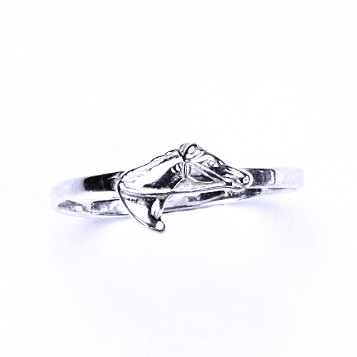 ČIŠTÍN s.r.o Stříbrný prsten, stříbrné šperky, prstýnek s koněm, T 27 8625