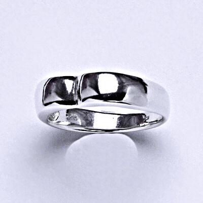 ČIŠTÍN s.r.o Stříbrný prstýnek, prsten ze stříbra,váha 2,90 g 14333