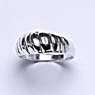 ČIŠTÍN s.r.o Stříbrný prstýnek, prsten ze stříbra,váha 2,88 g 14332