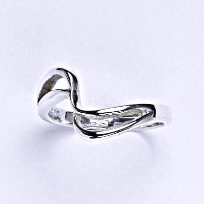 ČIŠTÍN s.r.o Stříbrný prstýnek, prsten ze stříbra,váha 2,02 g 14354